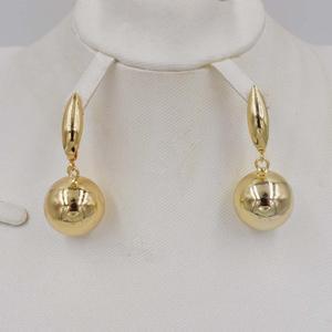 Image 5 - 높은 품질 ltaly 750 골드 컬러 쥬얼리 여성을위한 설정 아프리카 구슬 jewlery 패션 목걸이 세트 귀걸이 쥬얼리
