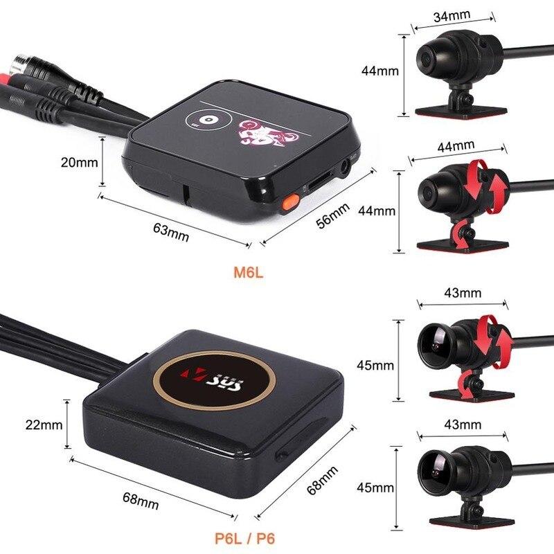 Купить hd камера с двумя объективами водонепроницаемый видеорегистраторы
