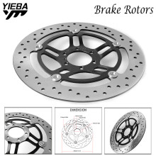 купить Motorcycle Motorbike Front Floating Brake Disc FOR Honda VTR250 VTR 250 1998 1999 2000 2001 2002 2003 2004 2005 2006 2007 онлайн