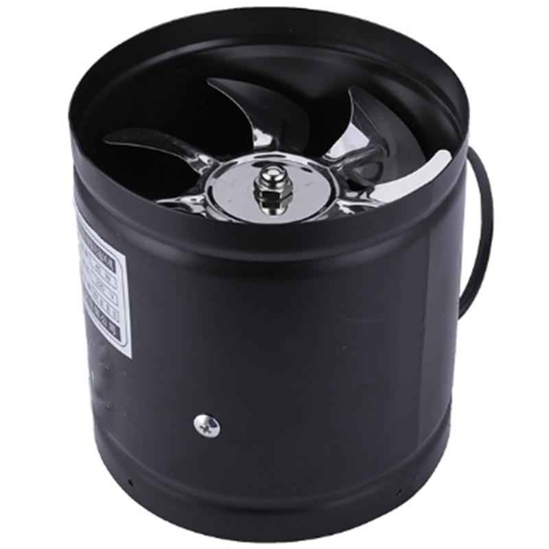 Top Deals 4 Inch Inline Duct Fan Air Ventilator Metal Pipe Ventilation Exhaust Fan Mini Extractor Bathroom Toilet Wall Fan Duct