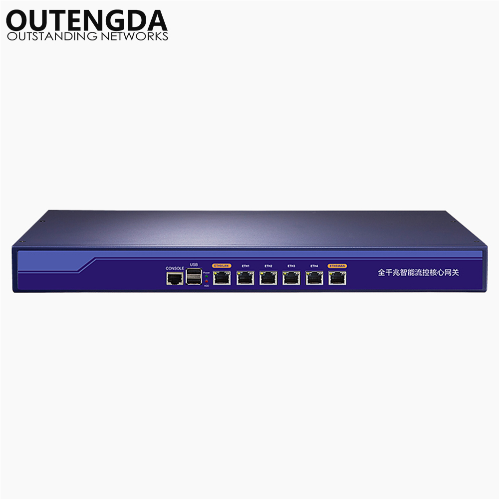 Full Gigabit High-specification Enterprise Multi-WAN Commercial Router For AP Multi-service VLAN Network Manage Max 512pcs