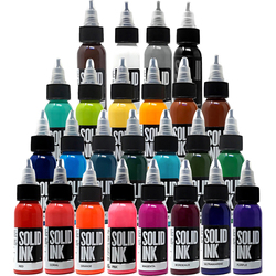 25 pak zwart tattoo ink make pigment краска для тату pigmentos pigmento pigmenten tinta para tatuar goochie