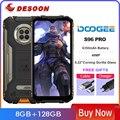 DOOGEE S96 Pro смартфон с восьмиядерным процессором Helio G90, ОЗУ 8 ГБ, ПЗУ 128 ГБ, 48 МП, 20 МП, 6350 мАч
