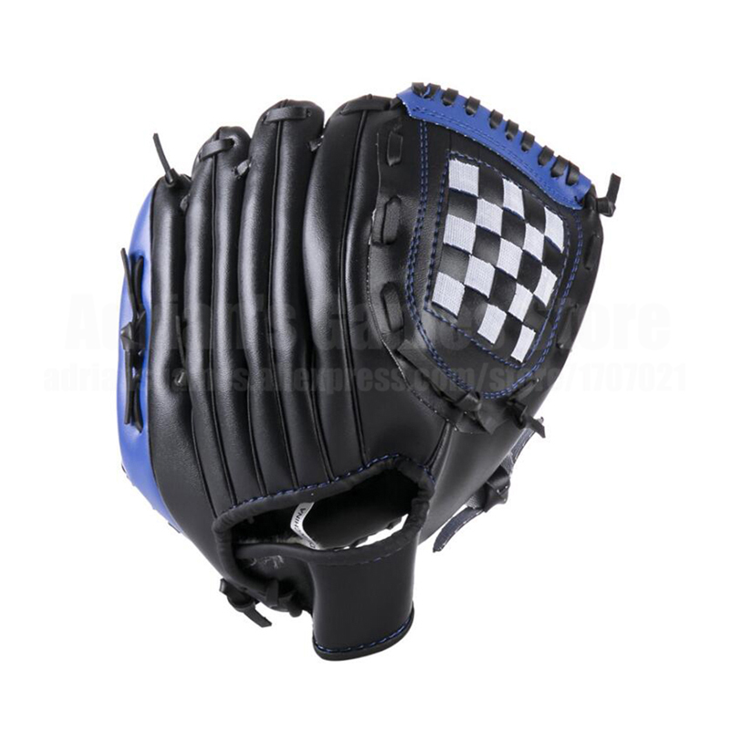 Adults Baseball Glove 3 Colors Thick Leather Glove Baseball Mitt Age 16+