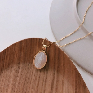 Image 5 - LouLeur 925 Sterling Silver Shell Maria Necklace Gold Original Western Style Madonna Pendant Necklace For Women Jewelry Gifts