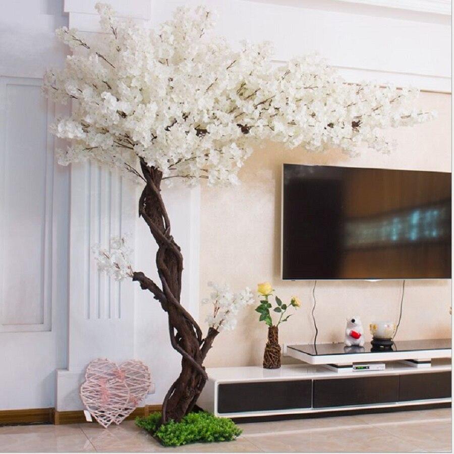 Вишневое дерево Искусственные деревья рынок Крытый shopwindow украшают искусственное дерево