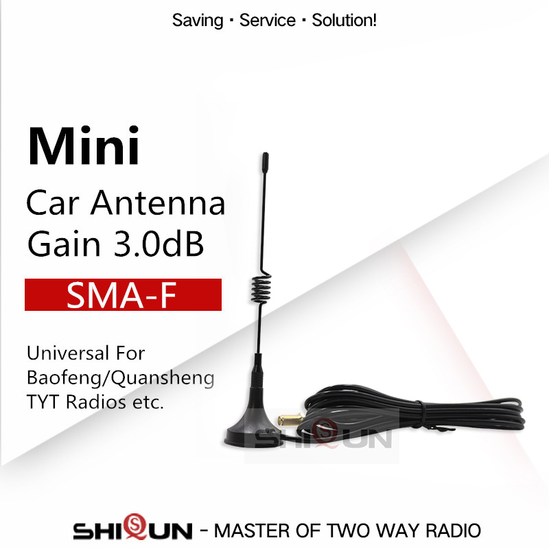 Baofeng Antenna For BF-888S UV-82 H777 UV-5R UV-9R Quansheng Radio TG-UV2 Mini Car Walkie Talkie UHF Antenna Baofeng Accessories