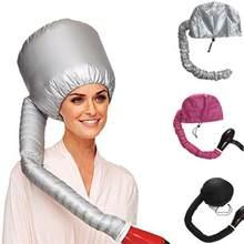 BellyLady Hair Mask Baking Oil Cap Hat Hair Dryers Heat Security Hair Care Treatment Beauty Steamer Heated Hood Cap with Hose(China)