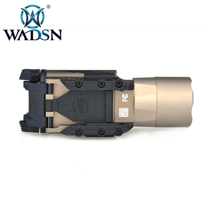 arma luz pistola x300 rifle picatinny weaver 05