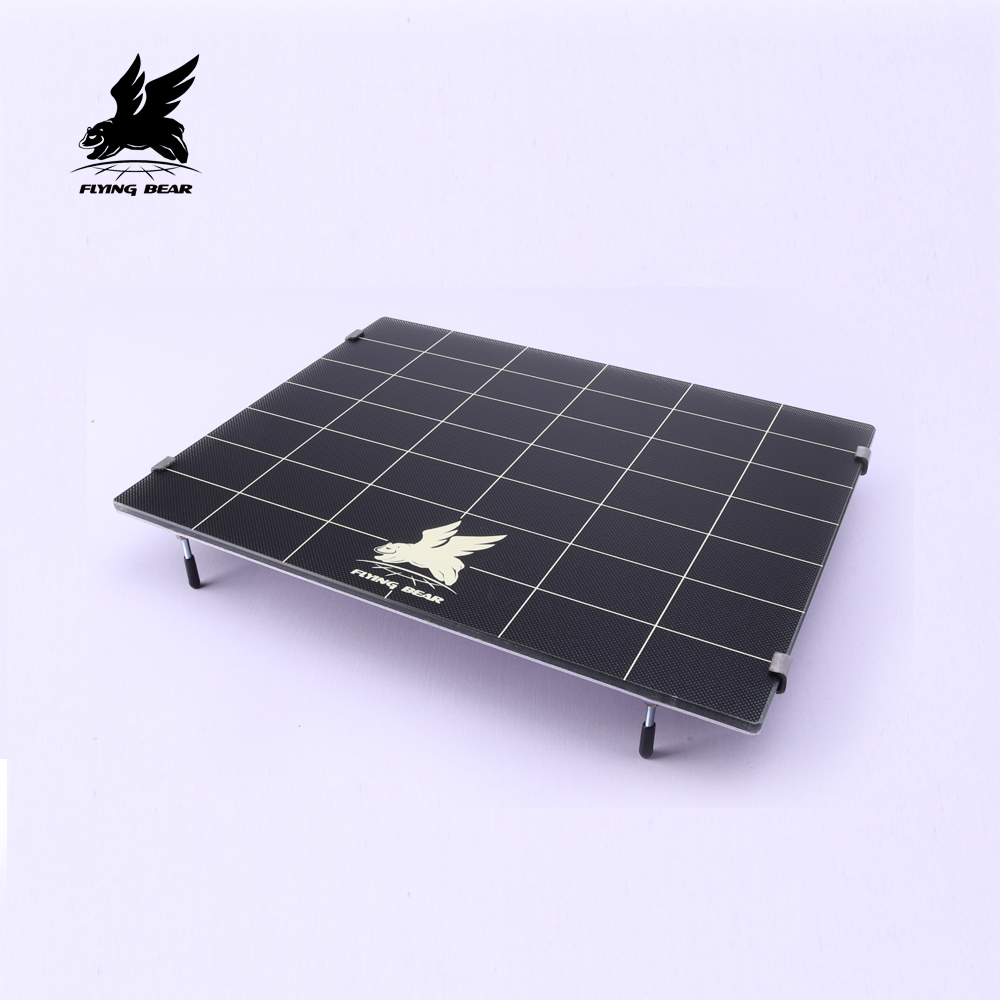 Flying Bear 3D Printer Ghost 4 Platform Heated Build Surface Glass Plate 275x220x5.5mm Hot Bed Compatible For Ghost 4