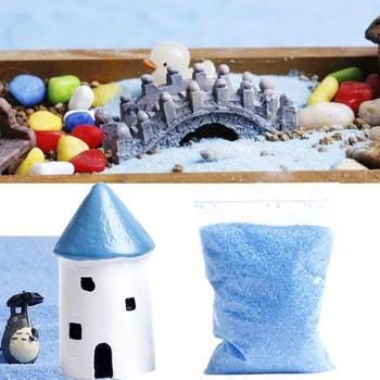 DIY Garden Outdoor Blue Sand Mini Landscape Micro Decoration Accessory Miniature Micro Decoration Microland