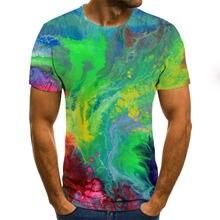Новинка 2020 3d футболка летняя модная футболки большой размер