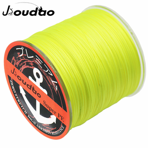 Jioudao Series 16 Strands 300M Super Strong Braided Wire 55-280LB 0.29-1.20mm Multifilament PE Fishing Line for Sturgeon Fishing