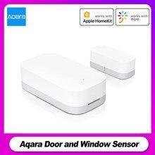 Aqara Tür und Fenster Sensor ZigBee Drahtlose Verbindung APP Control Smart Home Geräte Arbeiten mit Android iOS