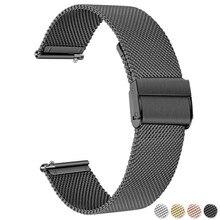 22mm 20mm Uhr Band Strap für Samsung Galaxy Uhr 3 Aktive 2 Band für Samsung Getriebe S3 Strap für Samsung Galaxy Uhr 42mm 46mm