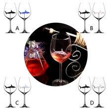 Товары для дома,, Акула, красное вино, бокал, бокал для вина, бокал для вина, вечерние бокалы, поддержка стекла, Прямая поставка