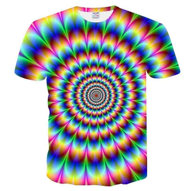 2020 Ancient Knowledge Men T-Shirt Psychedelic 3d Print T Shirt Men Fashion Clothing Tops Outfits Tee Summer Style Short Sleeve