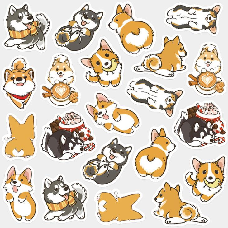 Dog Decorative Sticker