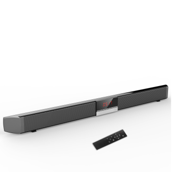 Home Theater Wreless Bluetooth 5.0 Speakers 40W Soundbar TV with Remote Control Aux-In Coaxial Optical Subwoofer Speakers
