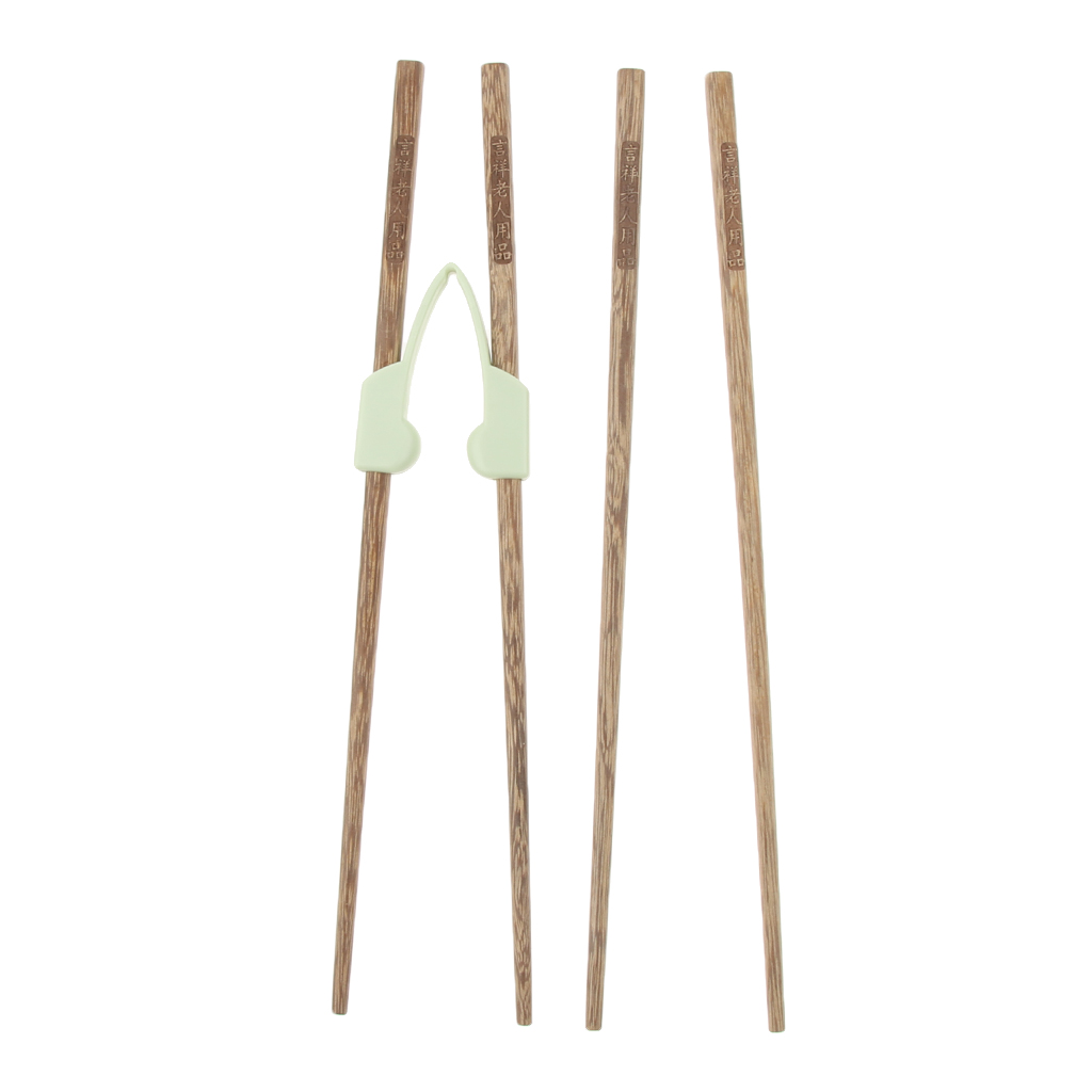 4pcs Elderly Eating Aids Anti-Slip Chopsticks Training Chopsticks Learning Chopsticks For Adult Beginners Children