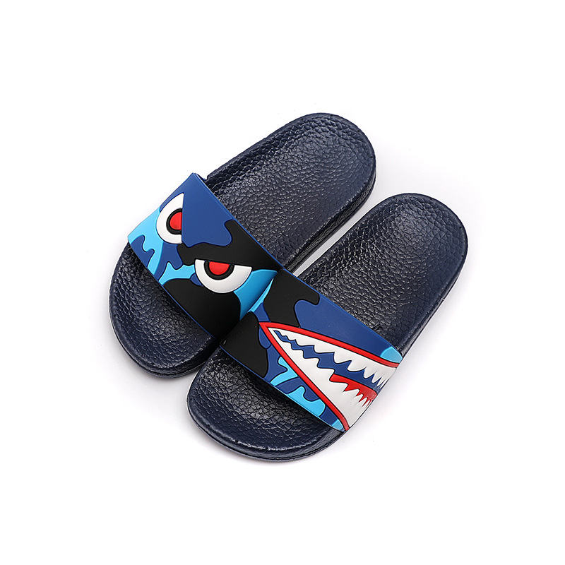 New Cartoon Dinosaur Slippers Unicorn Baby Boy Girl Children Summer Beach Water Indoor Home Shoes Children Outdoor New Sandals