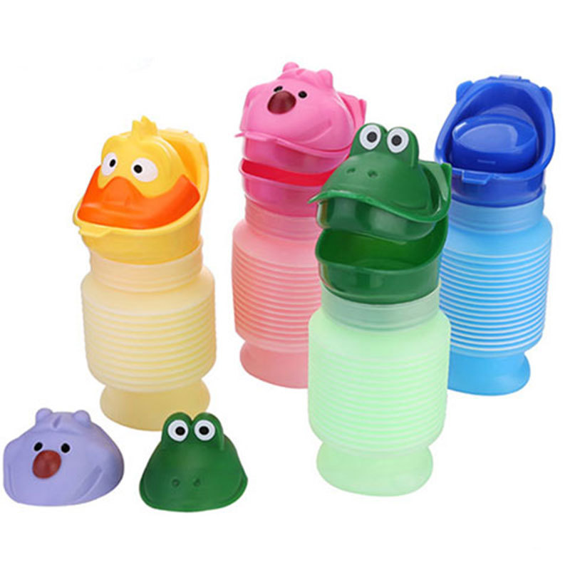 Children Urinal Yellow Portable Urinal Baby Emergency Urine Bag Kettle Body Stretchable