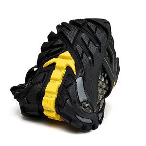 Image 2 - ビッグサイズ 39 48 男性登山靴メッシュbreathalbe屋外トレッキングスニーカー快適な登山靴男性