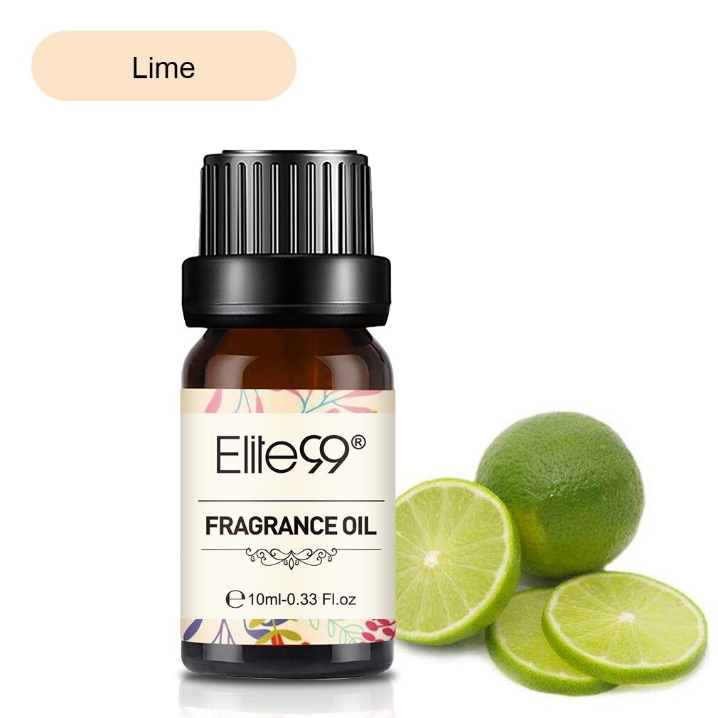 Elite99 10ml Kalk Duft Öl Natürliche Blume Obst Ätherisches Öl Für Aromatherapie Diffusor Hautpflege Entlasten Stress Frische Luft