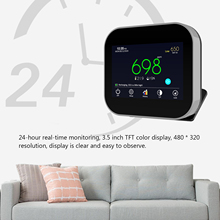 Carbon-Dioxide-Detector Self-Monitoring-Device Pm2.5-Detector Wall-Mounted Air-Quality
