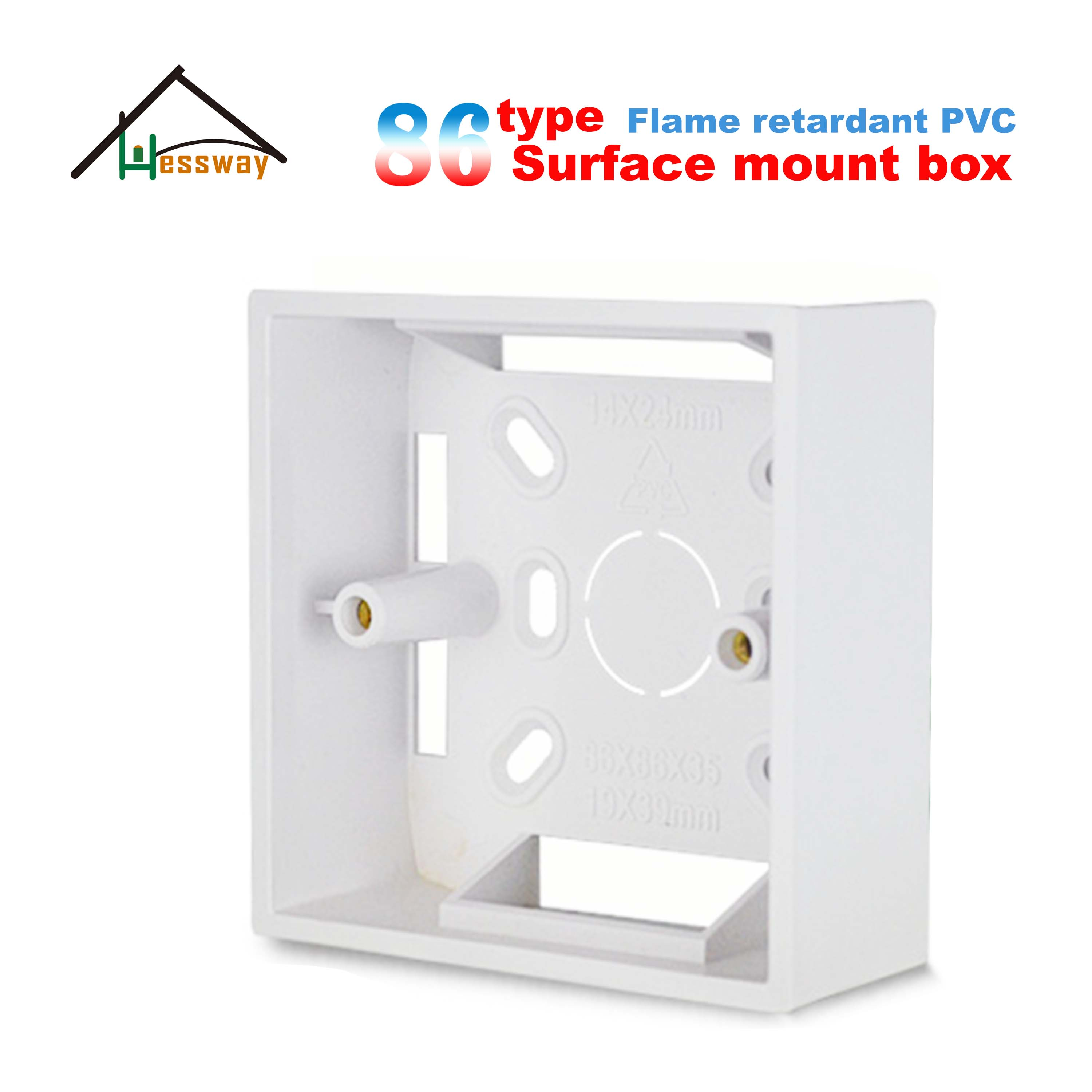 Universal Wall Mounting Box With 86 Type Surface Mount Box