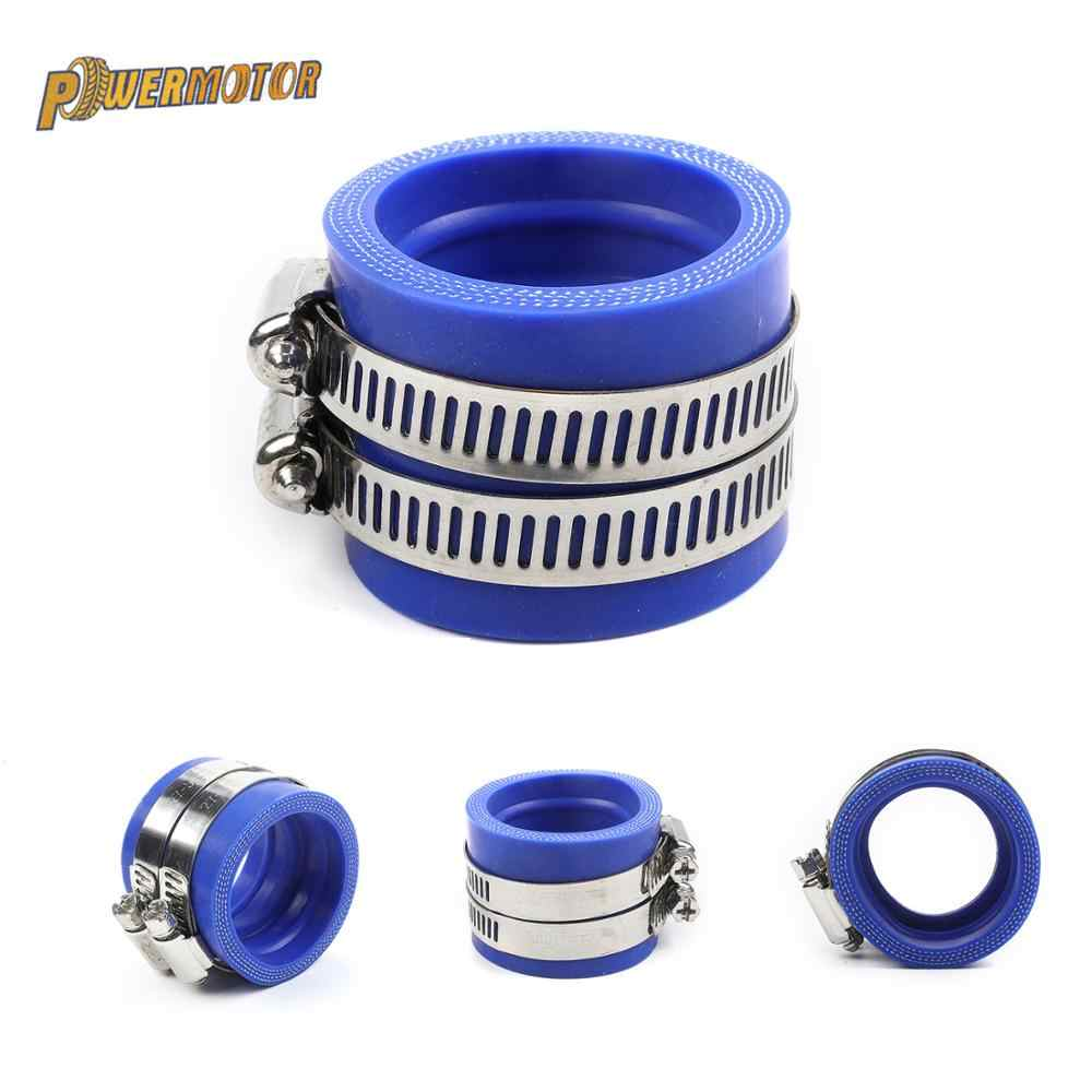 Powermotor Motorfiets Carburateur 40Mm Rubber Adapter Inlet Intake Pijp Voor Mikuni Oko Koso 32Mm 34Mm Carburador