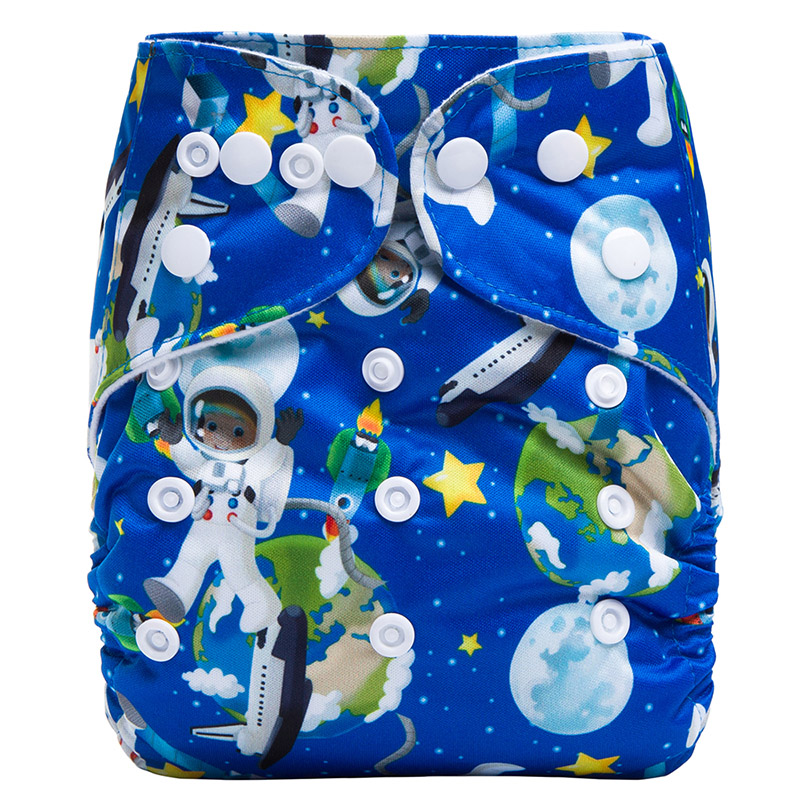 Pocket Cloth Diaper Reusable Baby Sleepy Cloth Diapers For Baby Eco Friendly Nappies S20