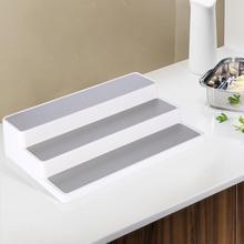 3 Tier Stair Step Design Cabinet Kitchen Spice Rack Jar Storage Organizer Shelf Home Storage Tools Для Кухни