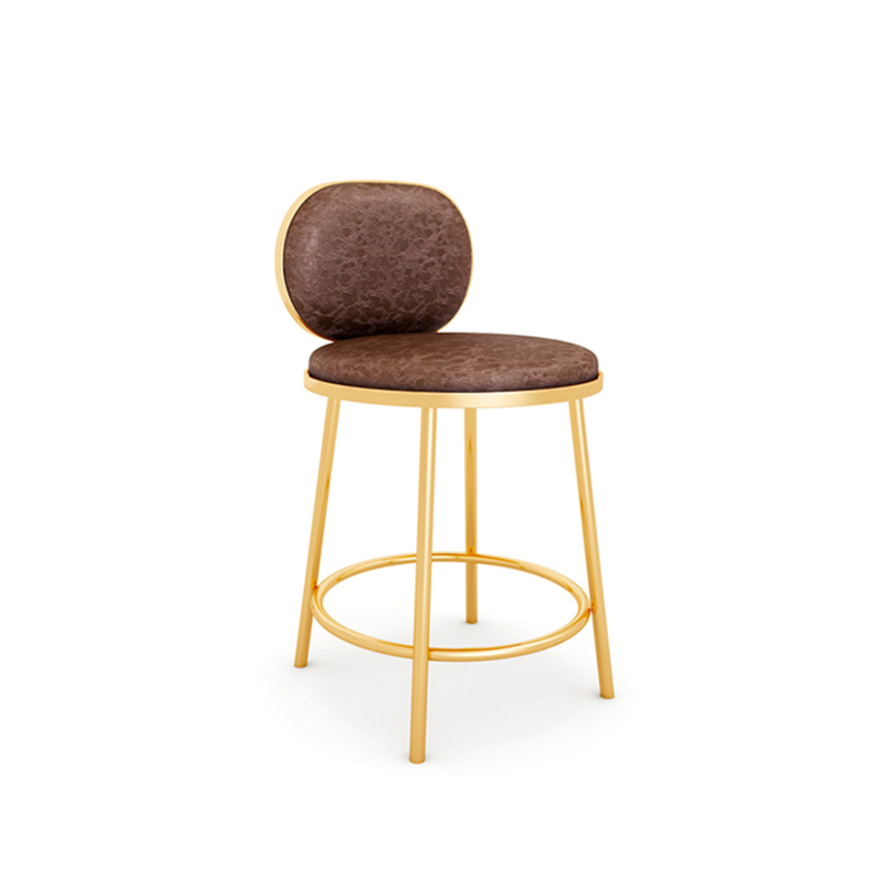 Modern Bar Stool Back Counter Stool Nordic Jewelry Store Special Stool Simple Front Desk Cash Register High Bar Chair