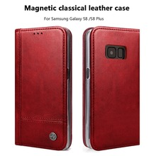 For Samsung Galaxy S8 S8 Plus Case For samsung S8 case  Leather Wallet Flip Case  Magnetic Card Holder Phone Bag Cover Coque Fun куртка revolution jacket heavy 7442 army xl