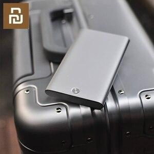 Image 5 - Original Youpin Reis Karte Fall Männer Frauen Business Metall Brieftasche Karte Halter Aluminium Smart Karte Fall Kann Bank Karte