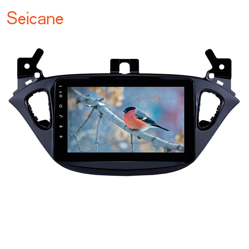 Seicane 8 Android 8.1 2Din Car Stereo For Opel Corsa 2015 2019/Opel Adam 2013 2016 GPS CAR radio Player SWC Rearview Camera DVR
