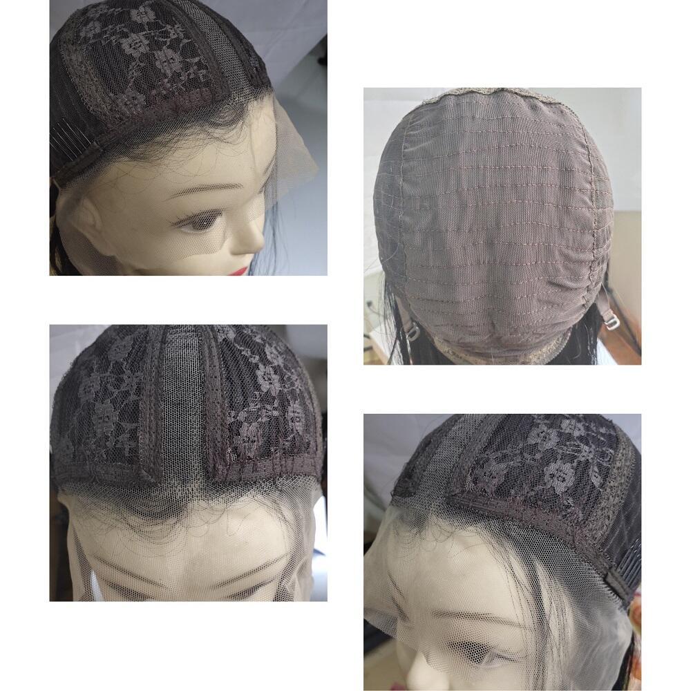 jet preto colorido glueless transparente perucas da 04