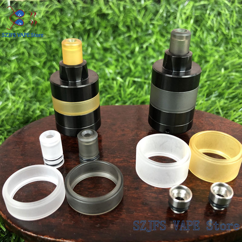 Kayfun Lite 22mm/24mm Replacement Window Long Mode Kit Dome Extension Kit Accessories E Cigarette Glass Tank Equipment