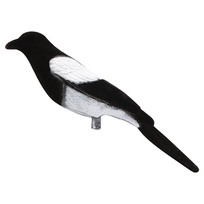 Magpie Bird Painted Decoy Shell Outdoors Shot Hunting Shooting Lures Bait Tool 652D