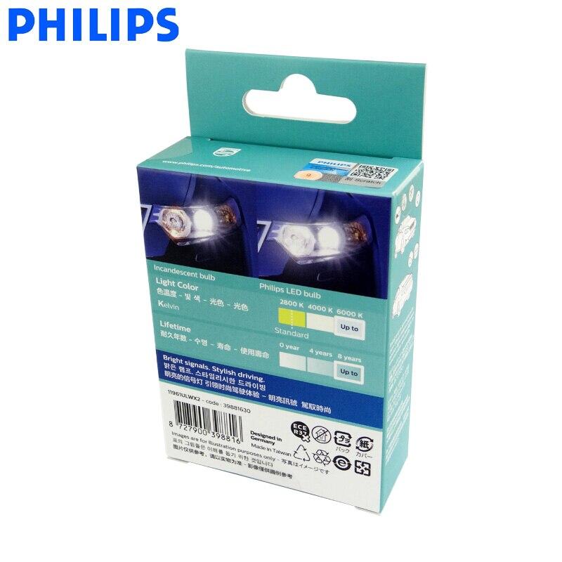 philips lampadas de sinal led w5w t10 04