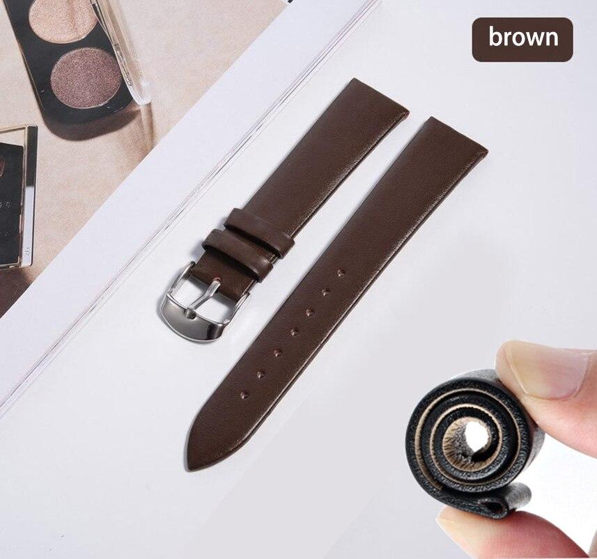 Купить ремешок из натуральной кожи для наручных часов браслет dw huawei