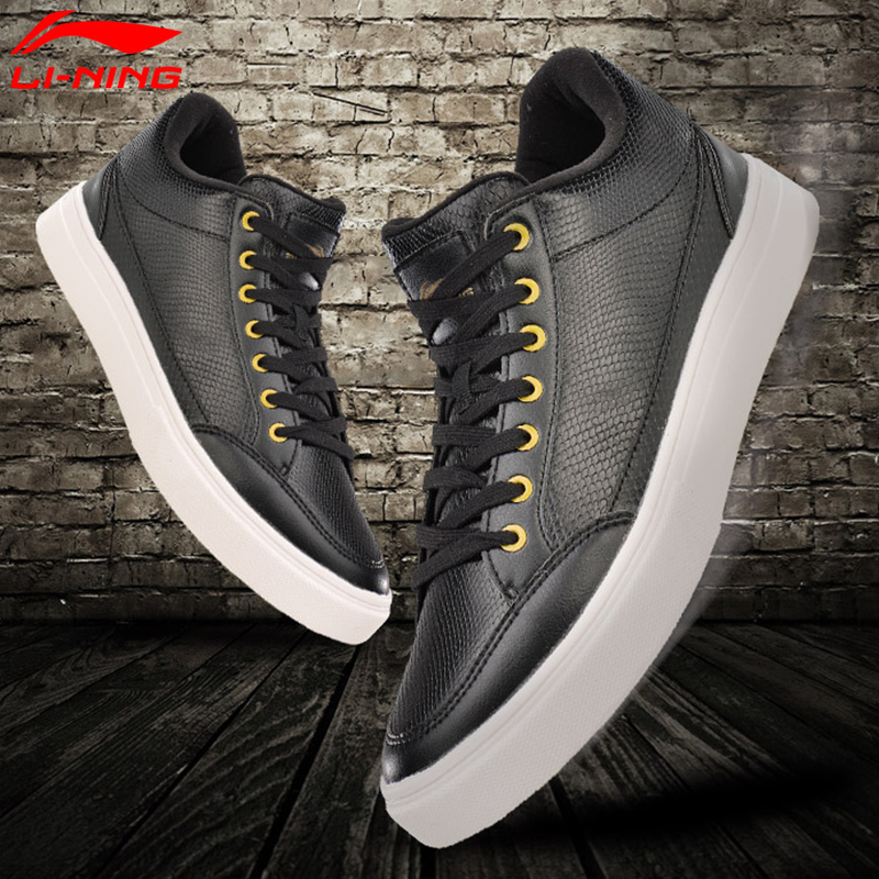 Li-Ning 2017Q4 NEW Men LN Remodel Walking Shoes Leisure Breathable LiNing Classic Sports Shoes Wearable Sneakers SONF17