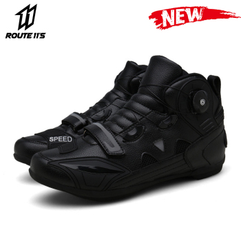 New Motorcycle Boots Motorcycle Racing Shoes Men Breathable Botas Moto Boots Motorbike Biker Riding Boots Outdoor Travel Shoes pro biker motorcycle boots moto shoes for motorcycle riding racing motocross boots waterproof motorbike boots black red white