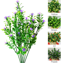 Simulation Grass Bouquet Fake Green Plant Fake Milan Grass with Leaf Setting Wall Artificial Flower Home Decoration Accessories цена и фото