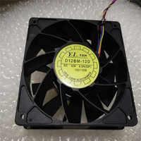 Wymiana chłodzenia wentylator chłodzący dla Antminer Bitmain S7 S9 D12BM-12D 12V 2.3A duża objętość powietrza chłodzenia wentylator chłodzący