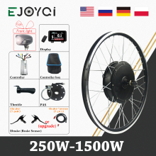 eBike Conversion Kit 48V 1500W 1000W 36V 250W KT LED Hub Motor Wheel Electric Bicycle Bike e-bike ebike Conversion Kit