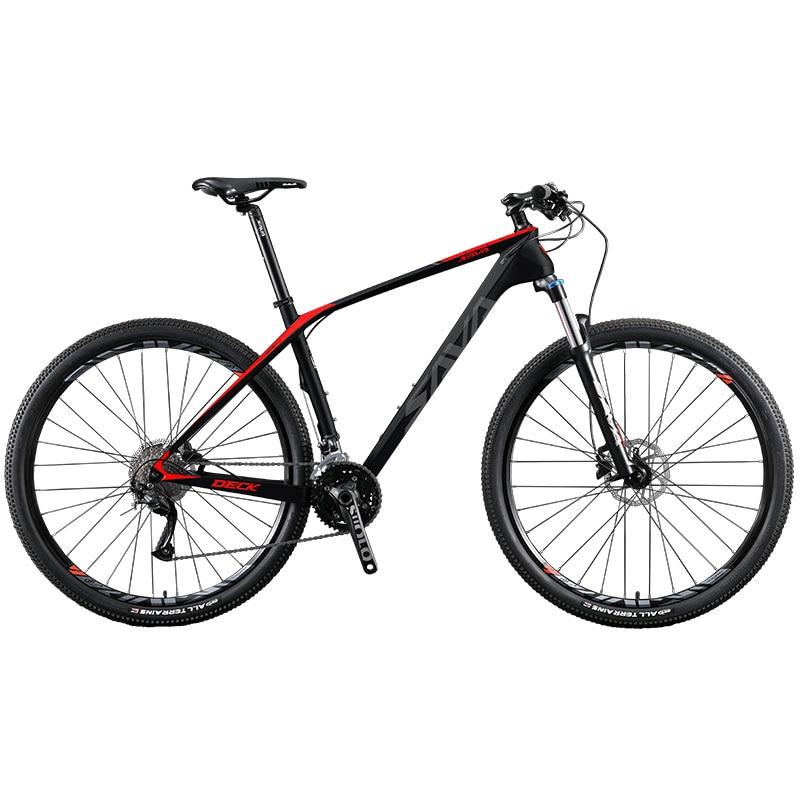 Bicicleta de Montaña de carbono para hombre, 29/27,5/26 pulgadas, con SHIMANO 27, 29 velocidades