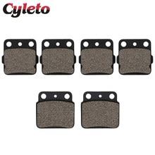 Cyleto – plaquettes de frein avant et arrière pour moto, pour SUZUKI LTZ400 LTZ 400 Quadsport 2003 2004 2005 2006 2007 2008 2009 2010 2011 2014