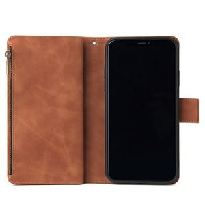 Image 4 - Pu 가죽 전화 케이스 애플 아이폰 11 11pro 11 프로 최대 완전히 동봉 된 보호 지갑 기능 패키지